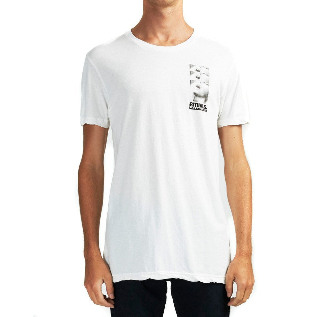 Ksubi - Ritual SS Tee - Worn In White