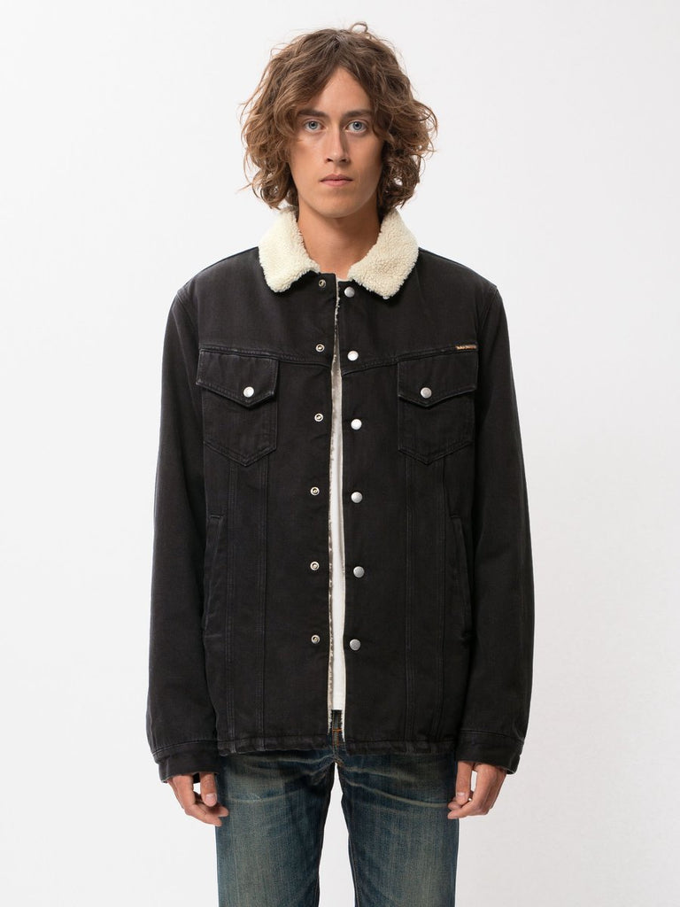 Nudie - Lenny Jacket - Black Worn