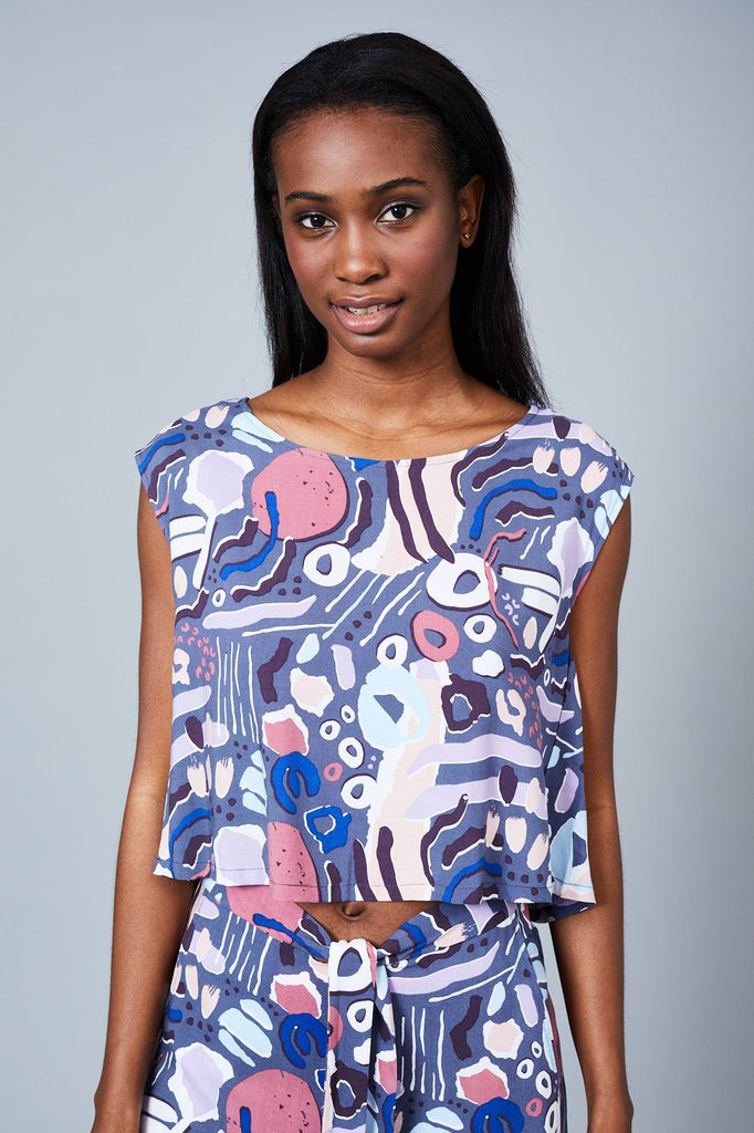 Native Youth - The Nostalgia Print Blouse - Drop 2 Print