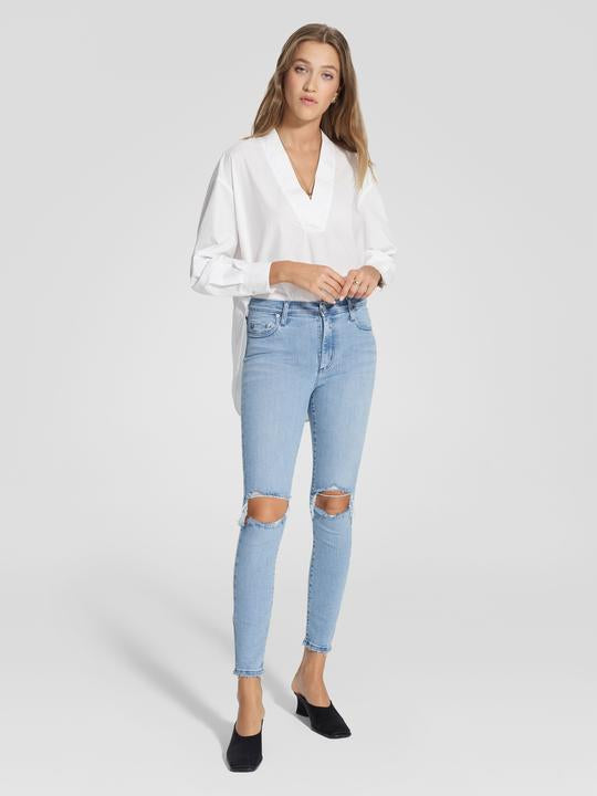 Nobody - Cult Skinny Ankle Jean - Skyblue