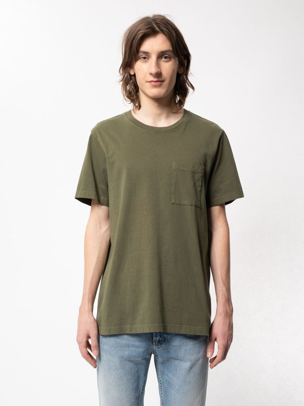 Nudie - Roy One Pocket Tee - Army