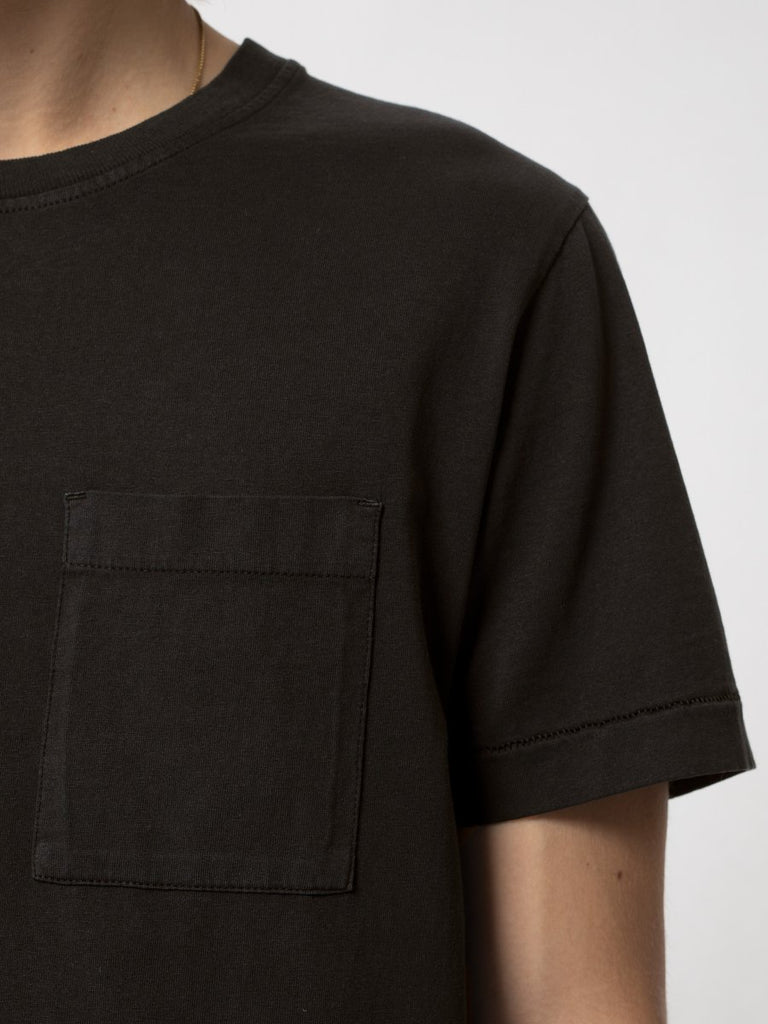 Nudie - Roy One Pocket Tee - Black
