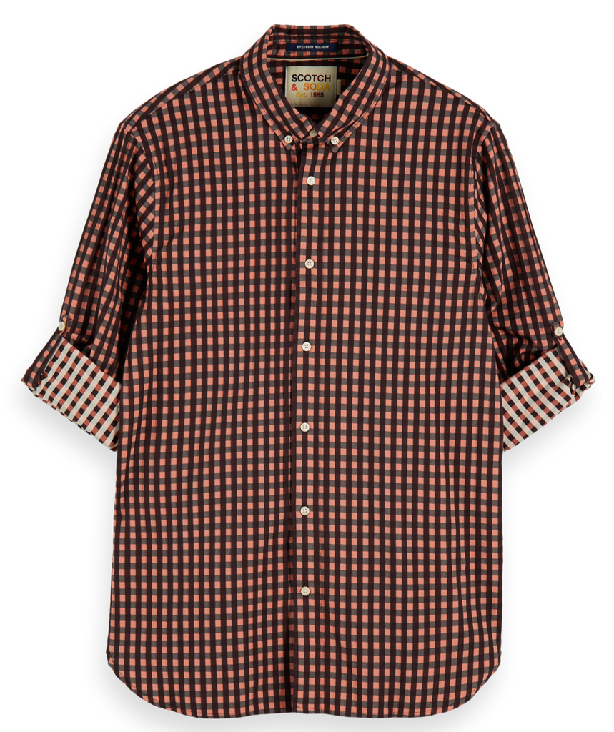 Scotch & Soda - Regular Fit BB Check Shirt - Multi