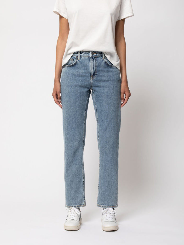 Nudie - Straight Sally Jean - Worn In Stone