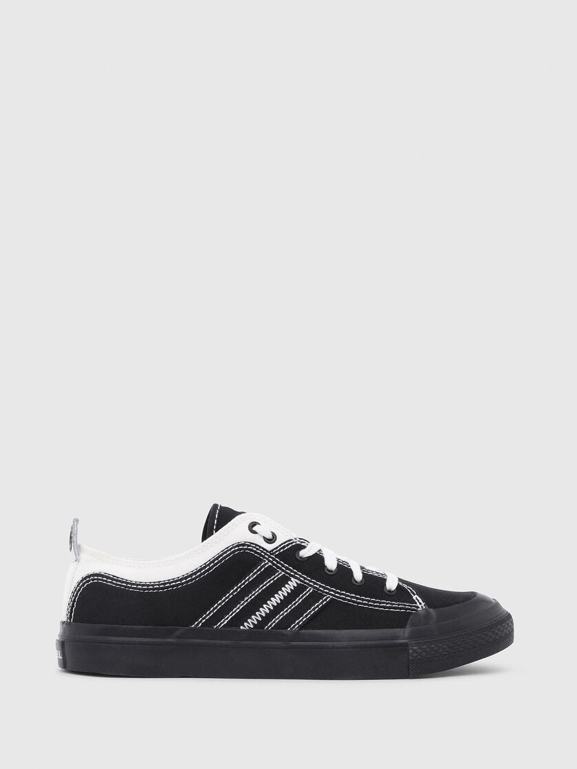 Diesel - S-Astico Low Lace Shoe - Black/Star White