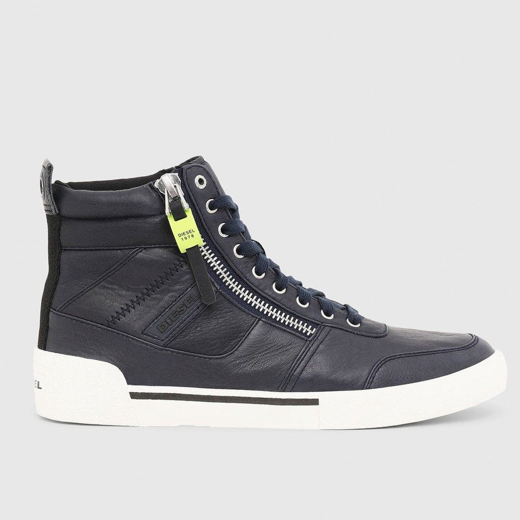 Diesel - S-Dvelows High-Top Sneaker - Blue Nights