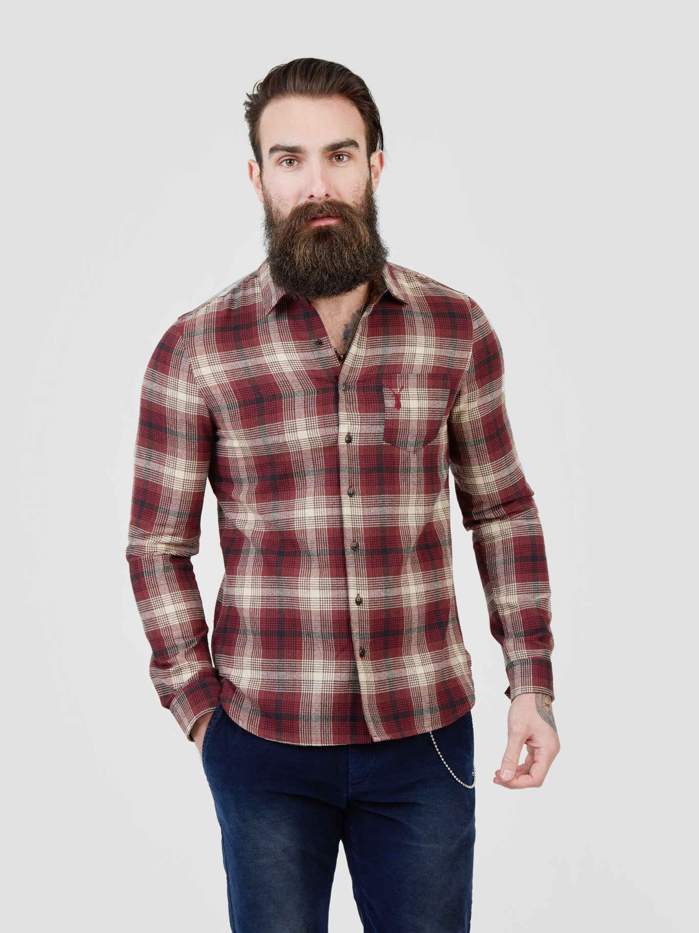 Pearly King - Attend Shirt - Red