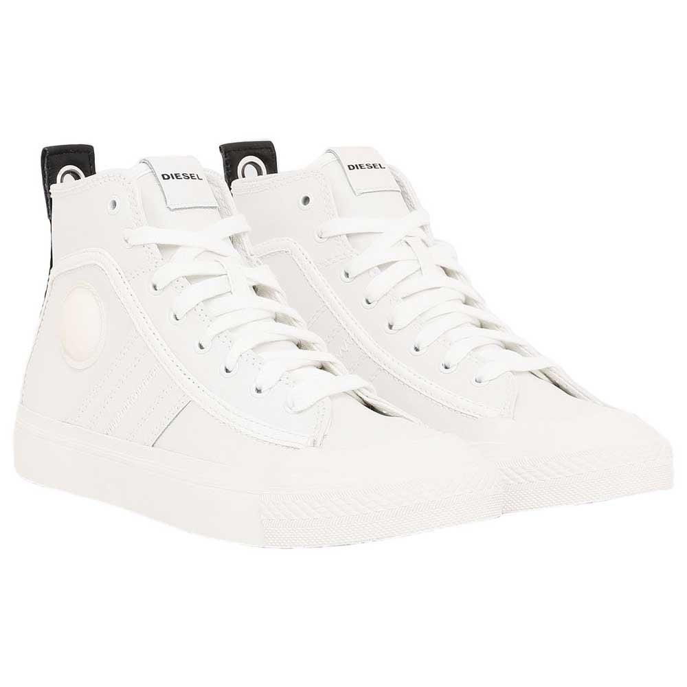 Diesel - S-Astico Mid Lace Sneaker - Star White