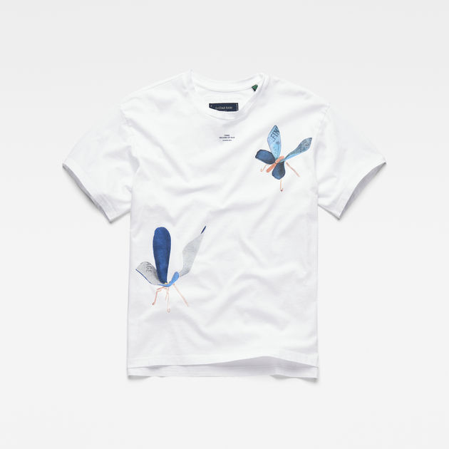 G-Star Raw - 30yr Graphic Boyfriend Tee - White