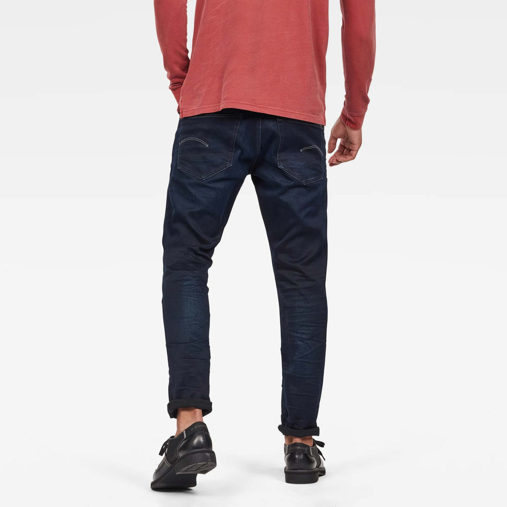 G-Star Raw - 3301 Straight Tapered Jeans - Dk Aged 70%