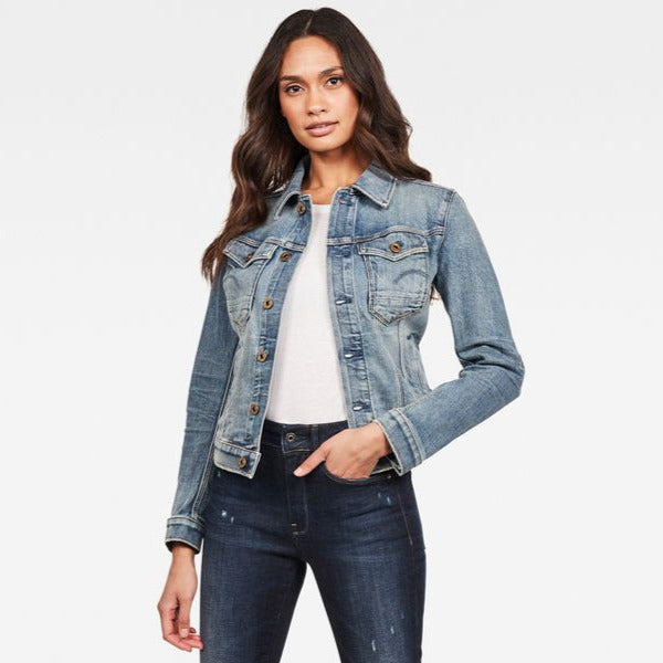 G-Star Raw - Arc Slim Wmn Jacket - Vintage Sailor Blue