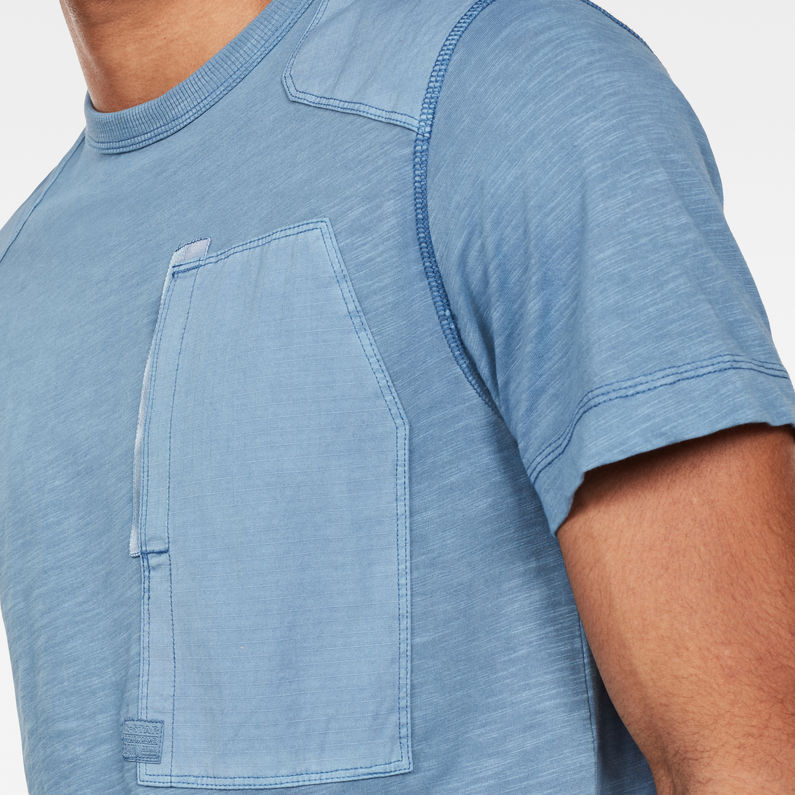 G-Star Raw - Arris Pocket T-Shirt - Dk Delta Blue