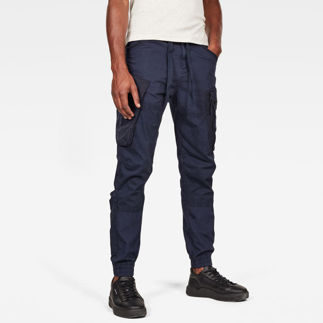 G-Star Raw - Atoll Trainer Cuffed Pant - Sartho Blue
