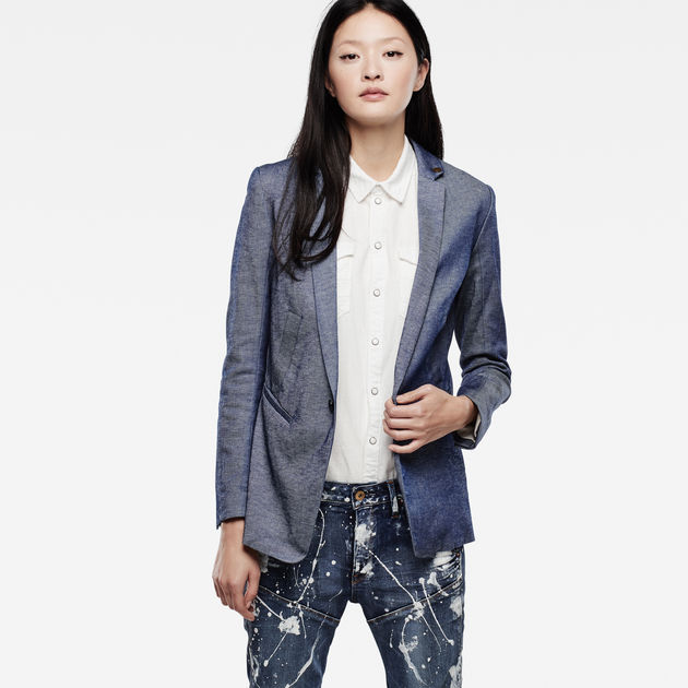 G-Star Raw - Bronson Boyfriend Blazer - Raw