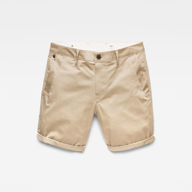 G-Star Raw - Bronson Straight 1/2 Shorts - Dune
