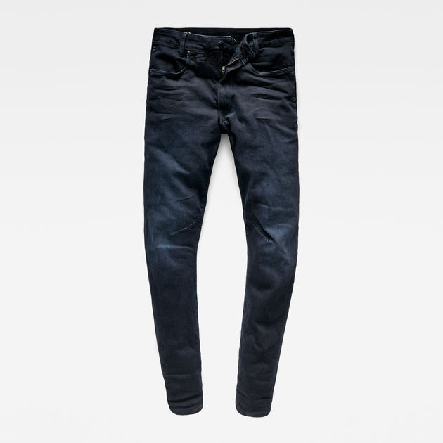 G-Star Raw - D-Staq 3D Slim Jeans - Dark Aged