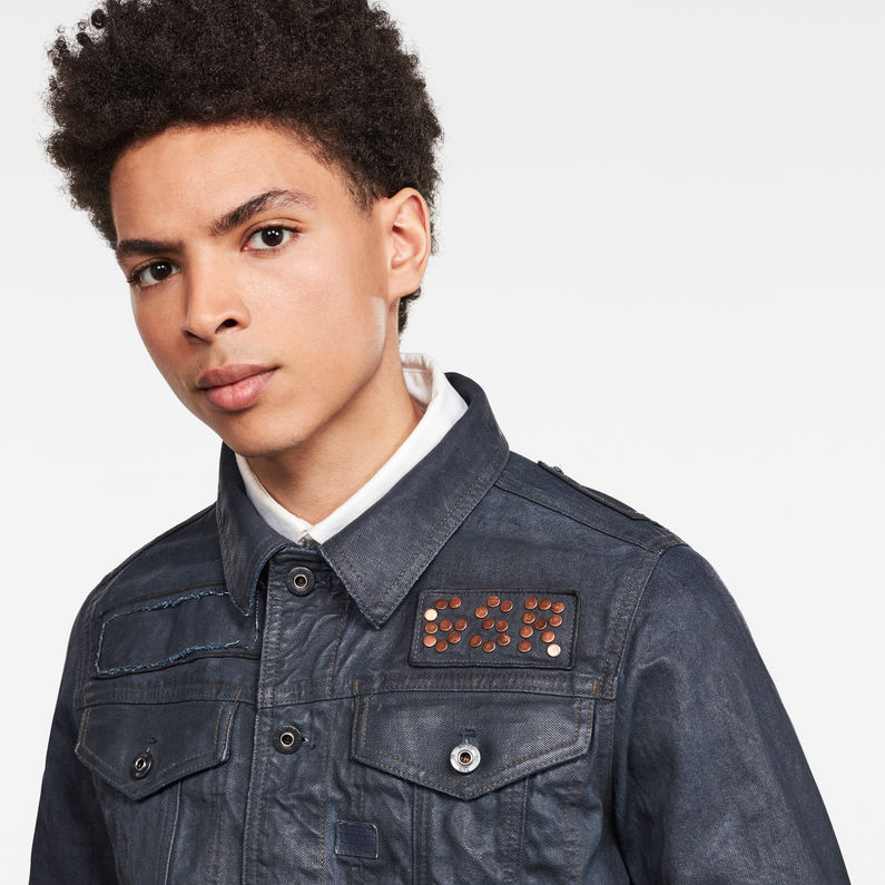 G-Star Raw -  D-Staq Studs Slim Jacket - 3D Cobler Processed
