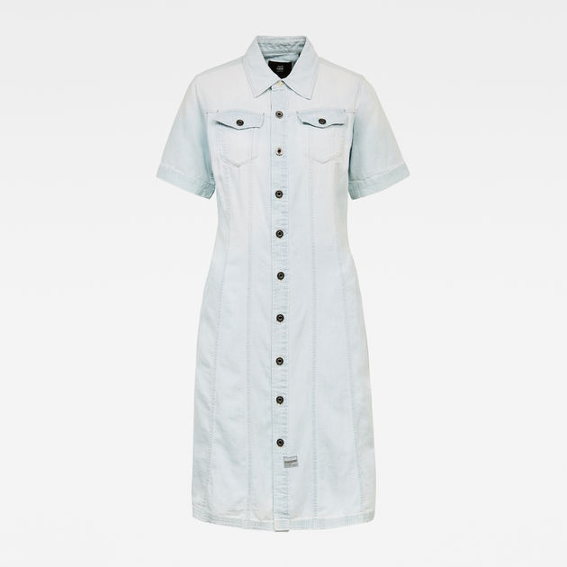 G-Star Raw - Denim Dress - Sun Faded Arctic