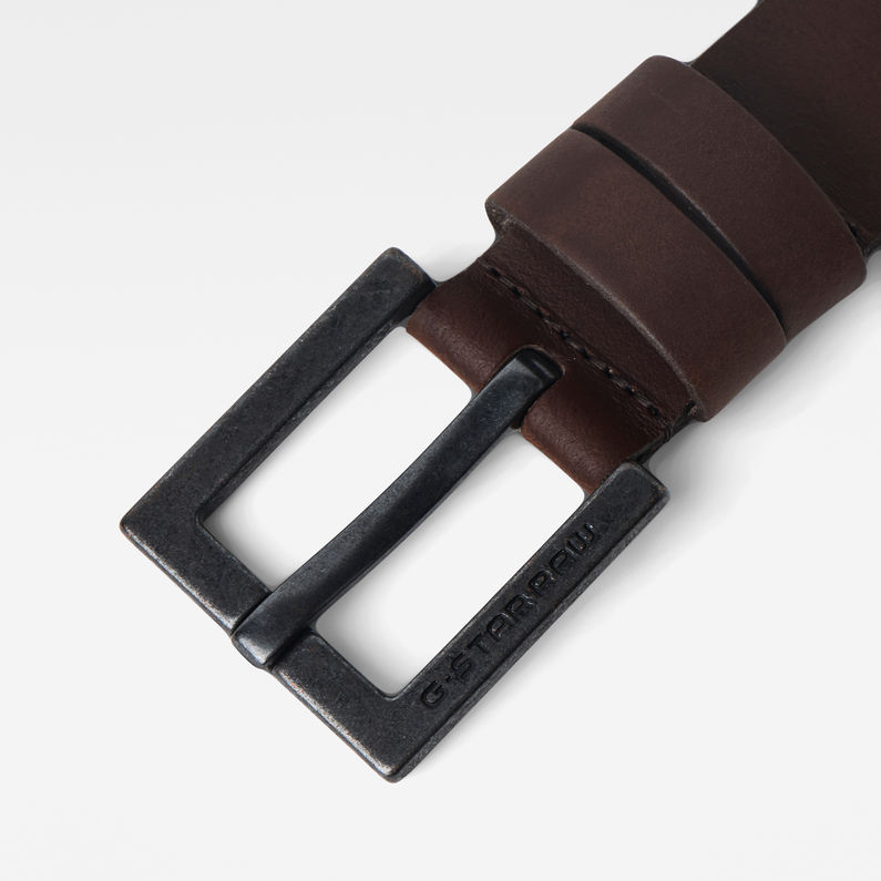 G-Star Raw - Duko Belt - Dark Brown / Black