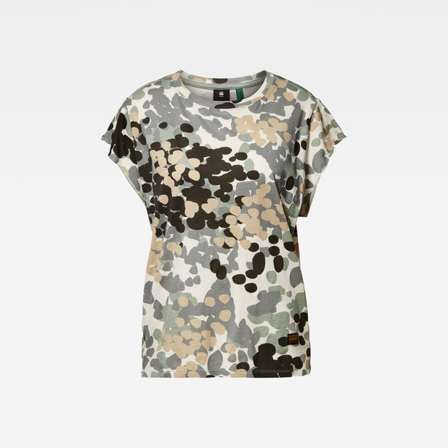 G-Star Raw - Gyre Allover Knot Top - Light Thymol Nomad Camo