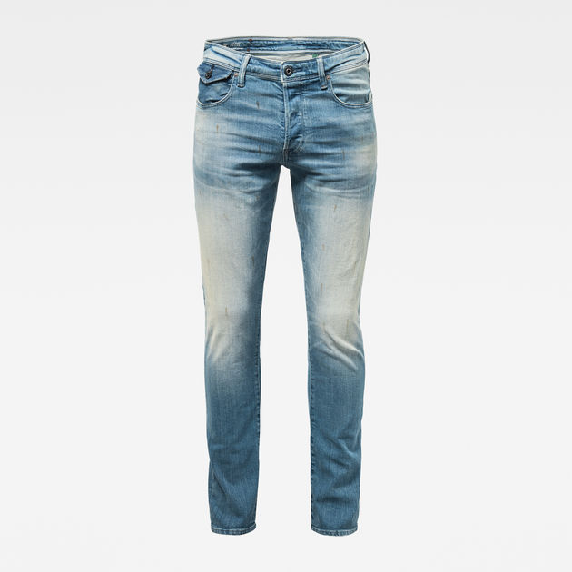 G-Star Raw -  Kilcot Straight Tapered Jeans - Antic Faded Royal Blue