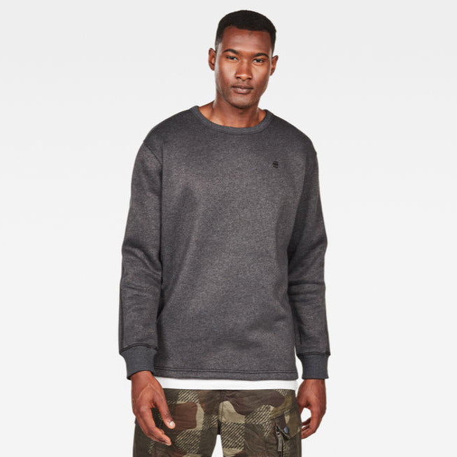 G-Star Raw - Korpaz R Sweat L/S - Dk Black Heather