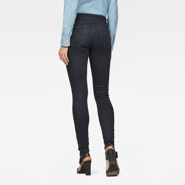 G-Star Raw - Lynn D-Mid Super Skinny - Rinsed