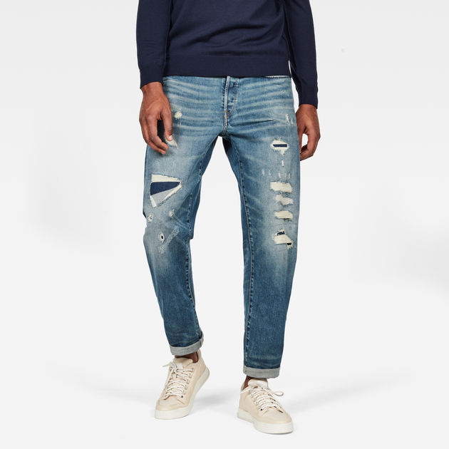 G-Star Raw - Moddan Type C Relaxed Tapered Jeans - Dandy Restored