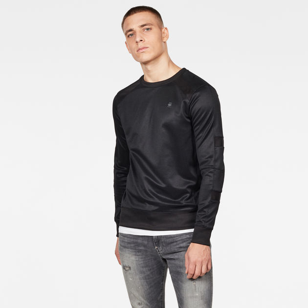 G-Star Raw - Motac Slim R Sweat - Dk Black