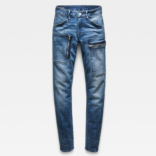 G-Star Raw - Powel Mid Skinny Jeans - Medium Indigo Aged