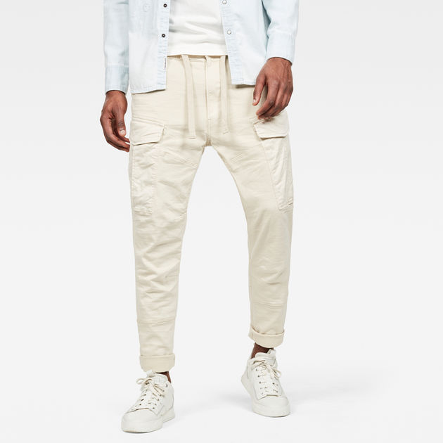 G-Star Raw - Rovic Slim Trainer - Whitebait