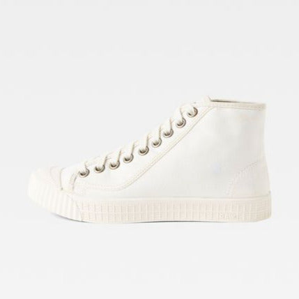 G-Star Raw -  Rovulc HB Mid Sneakers - White