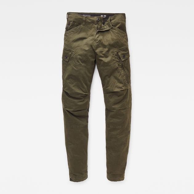 G-Star Raw - Roxic Straight Tapered Pant - Dark Bronze Green