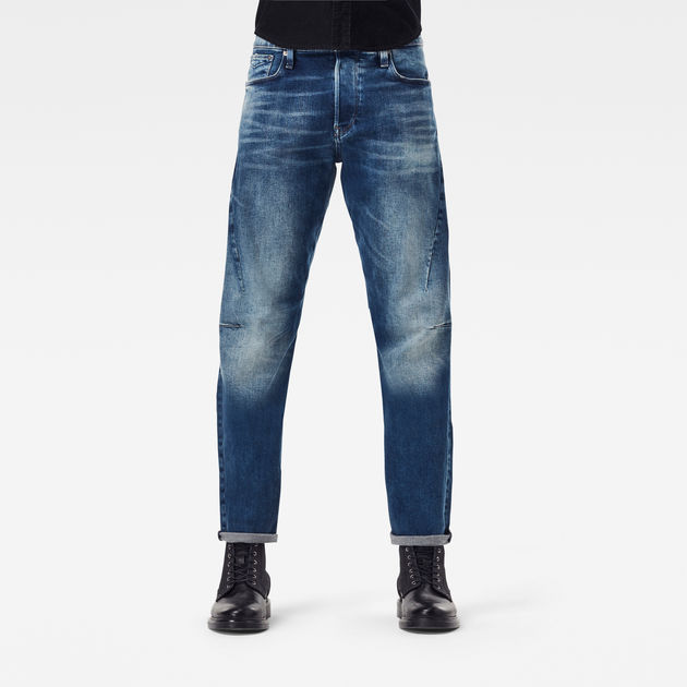 G-Star Raw - Scutar 3D Slim Tapered - Vintage Azure
