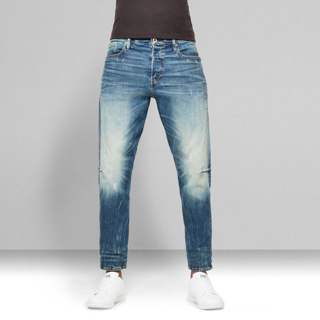 G-Star Raw - Scutar 3D Slim Tapered - Antic Faded Baum Blue