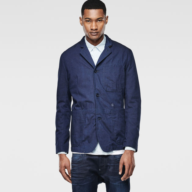 G-Star Raw - Shattor Omega Blazer - Raw Denim