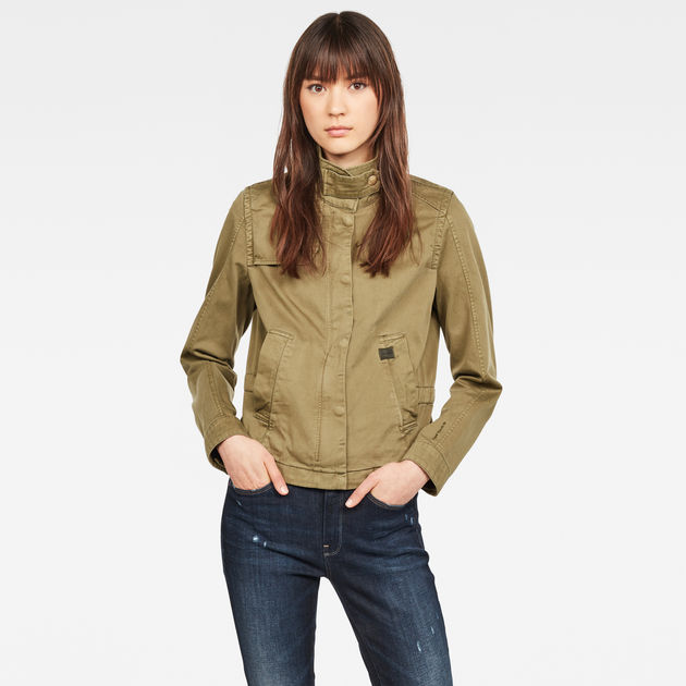 G-Star Raw - Slim Overshirt - Smoke Olive