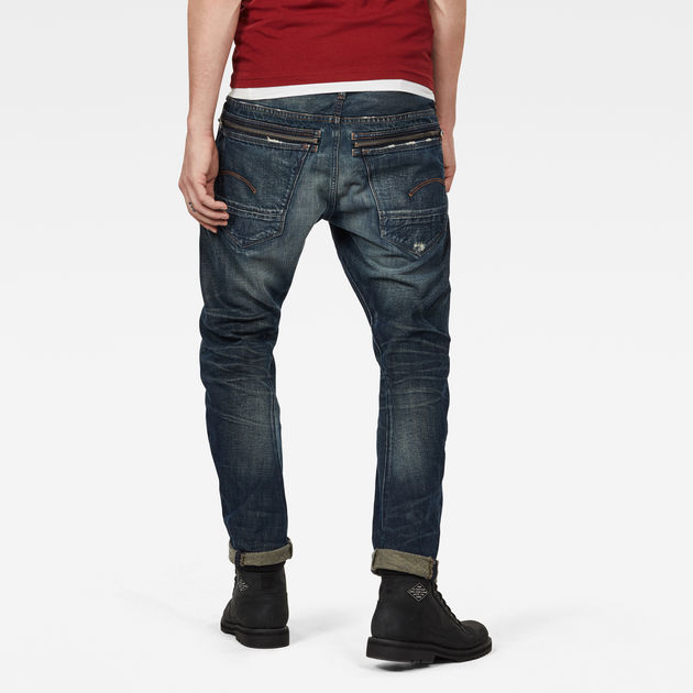 G-Star Raw - Tobog 3D Relaxed Tapered - Antic Nile