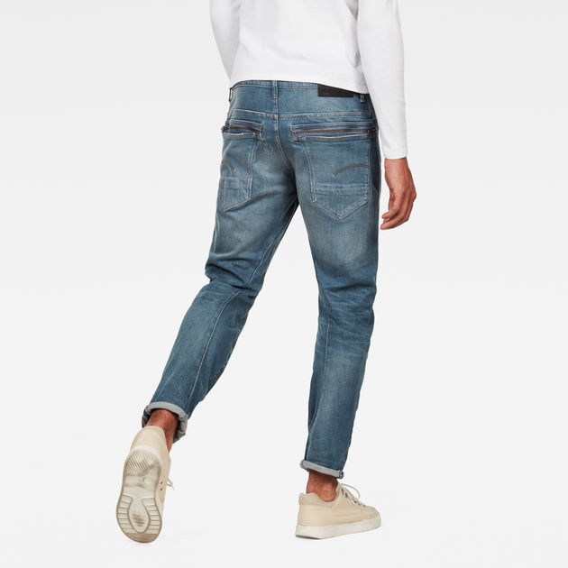 G-Star Raw - Tobog 3D Relaxed Tapered Jean - Used Mineral Destroy