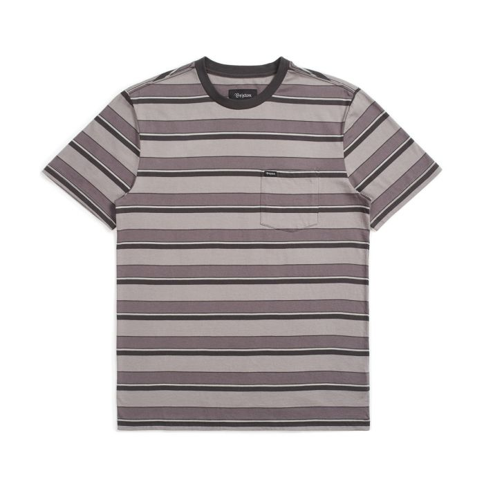 Brixton - Hilt SS Pocket Tee - Charcoal