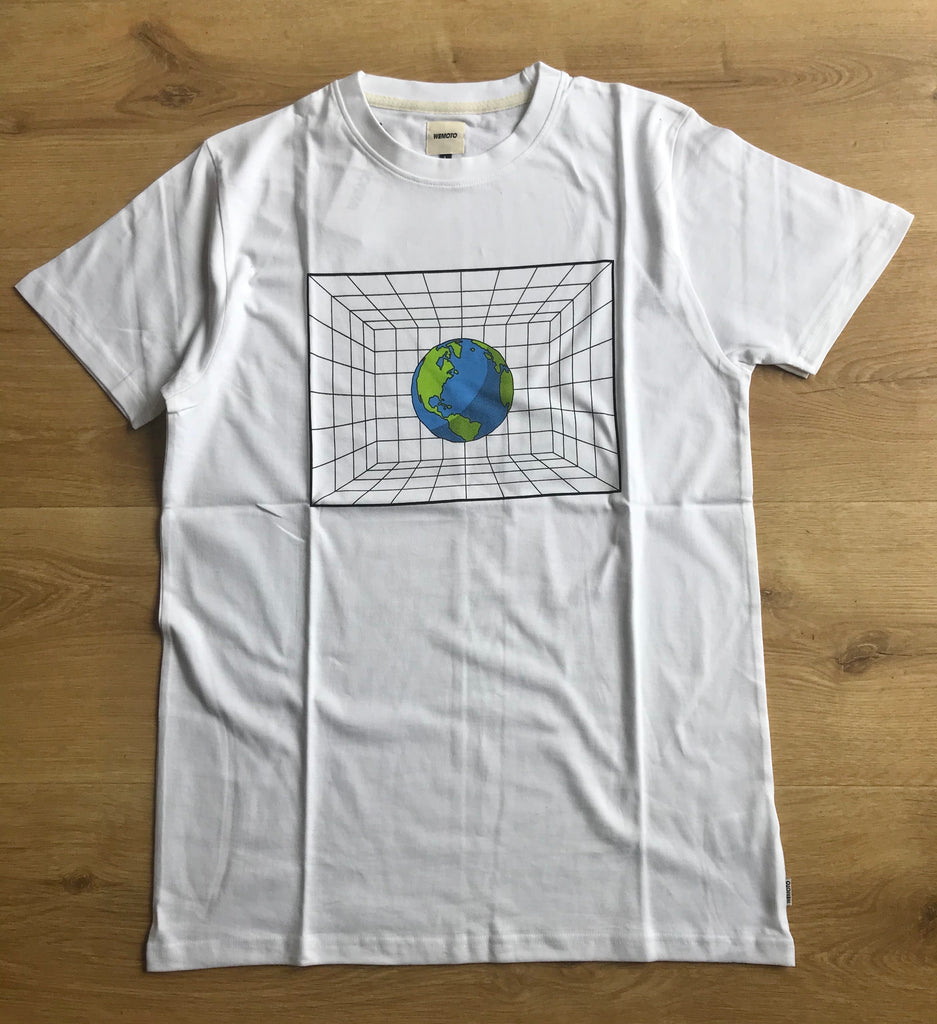 Wemoto - Earth Tee - White