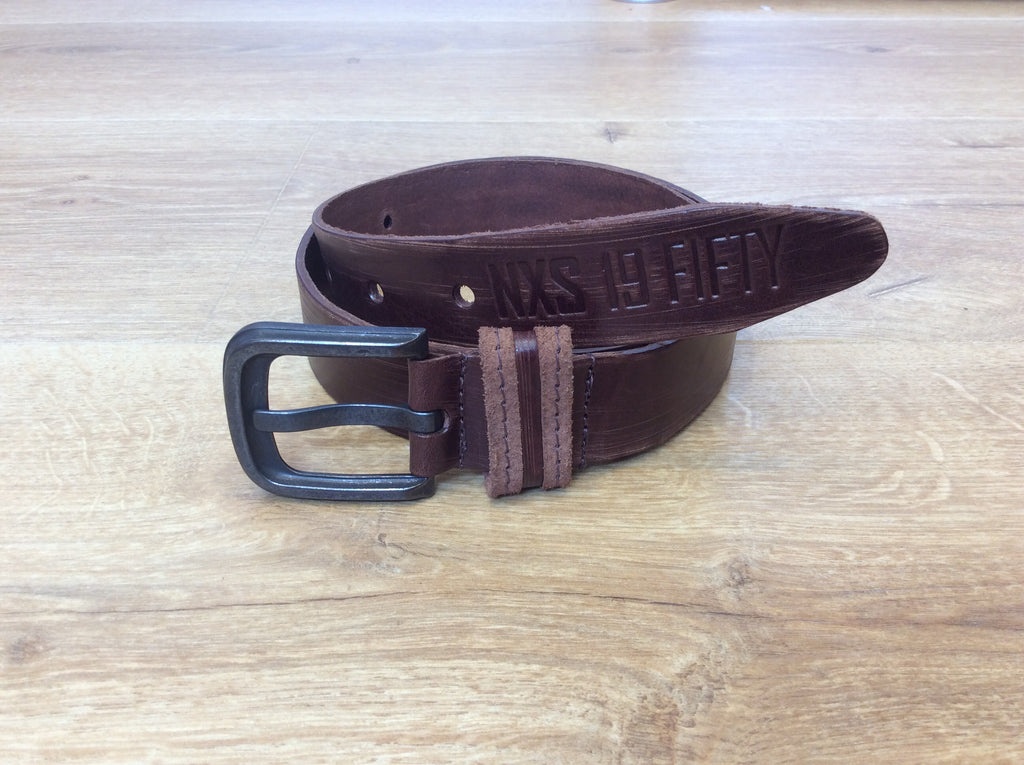 No Excess - Leather Belt - Scratch Coffee