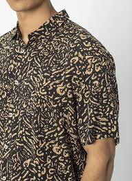 Barney Cools - Holiday SS Shirt - Leopard