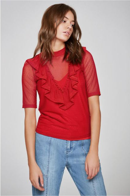 The Fifth Label - National Top - Red