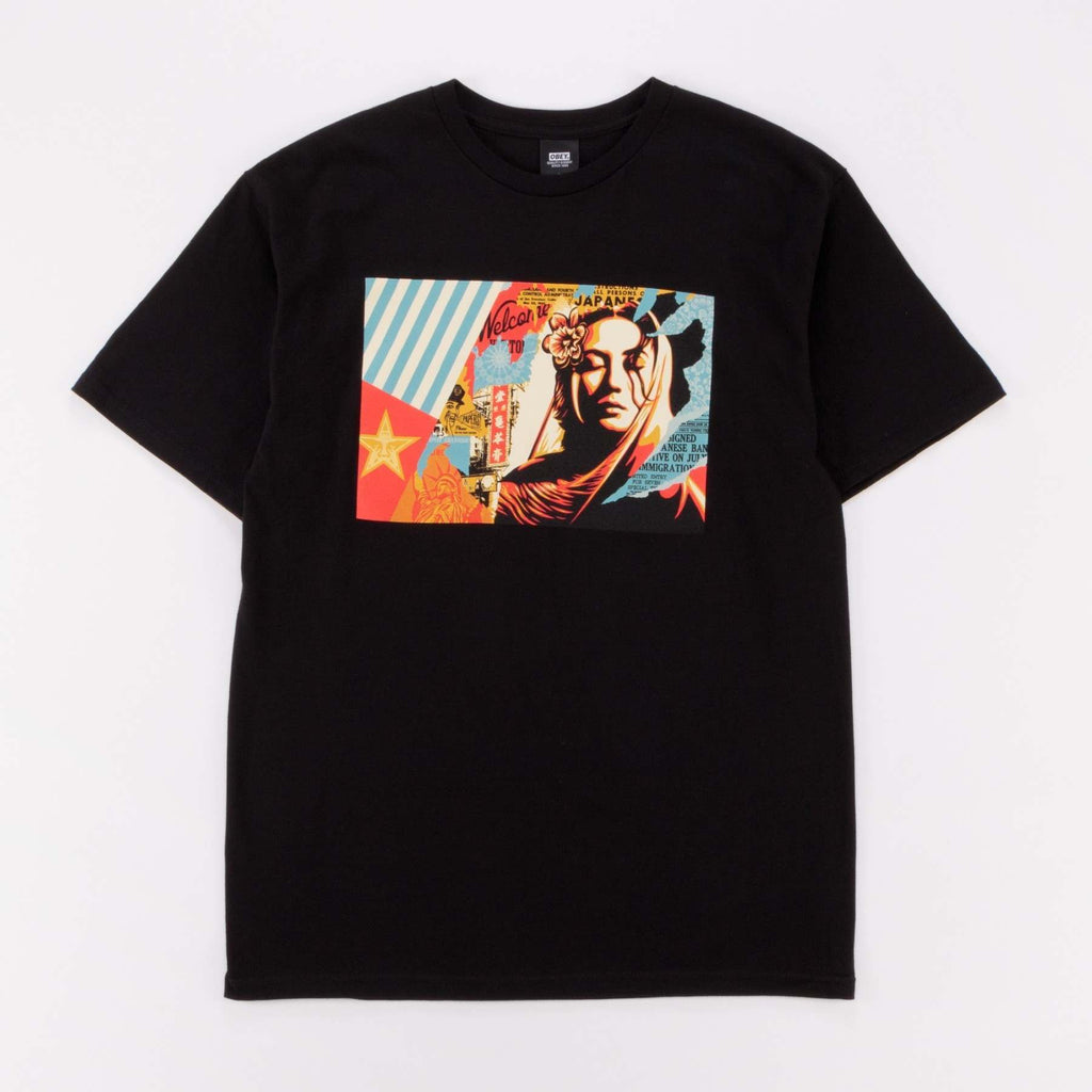 Obey - Welcome Visitor Tee - Black