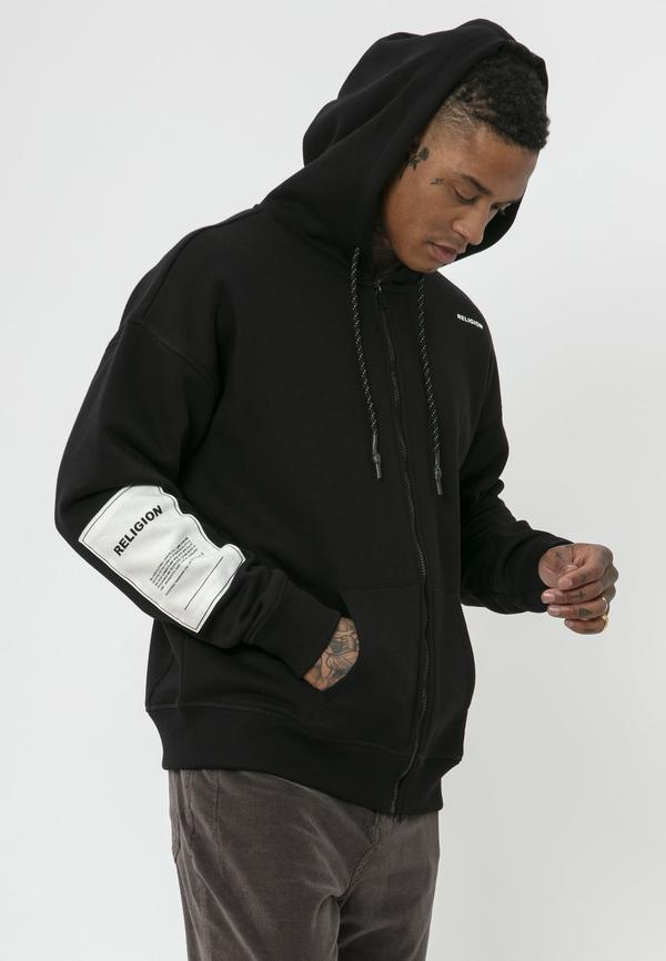 Religion - Plain Hoody - Black