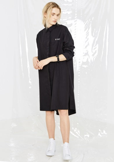 Salasai - Unity Shirt Dress - Black