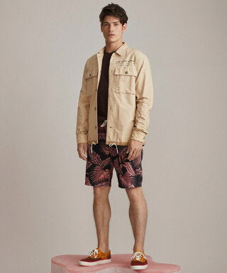 Scotch & Soda - Workwear Shirt Jacket - Sand