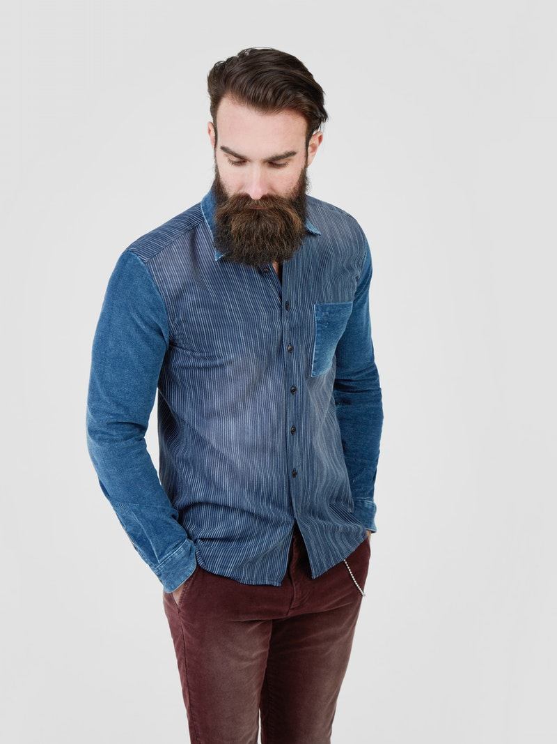 Pearly King - Valiant Shirt - Blue