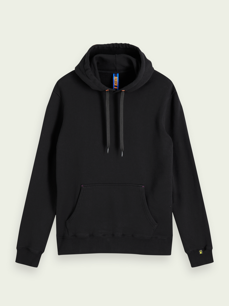 Scotch & Soda - Artwork Hoodie - Black